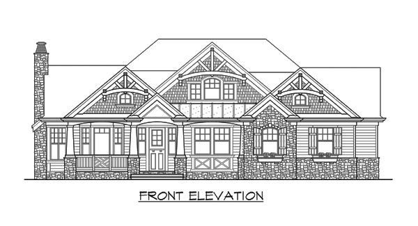 Теплый дом План 1-этажного дома с красивой крышей