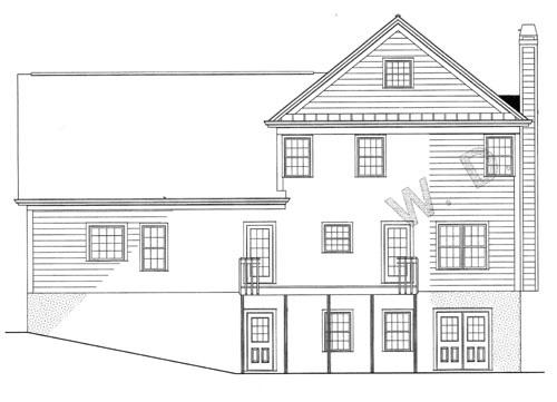 Фасад дома с цокольным этажом План -этажного дома 17x12 192 кв м