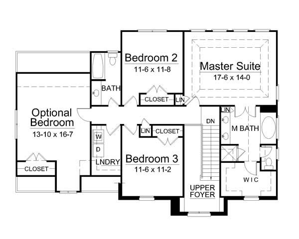 План 2 этажа План 2-этажного дома 15x11 186 кв м