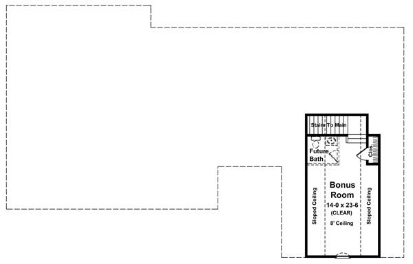 Этот популярный проект каркасного дома в американском стиле площадью  до 200 кв.м с гаражом на 2 машины и с 3 спальнями подходит для постоянного проживания. В большой спальне есть ванная. Также перед домом есть веранда..