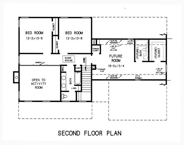 План 2 этажа План -этажного дома 17x12 192 кв м