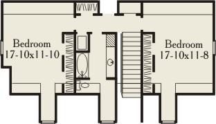 План 2 этажа План  двухэтажного каркасного дома 18 на 21 201 кв м