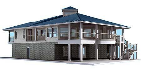 Фото 5 Проект большого дома из газобетона TD-44039-2-3