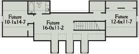 Этот привлекательный проект одноэтажного дома с симметричным фасадом с гаражом на 2 машины и с 3 спальнями подходит для постоянного проживания. Перед домом есть встроенная большая веранда.
