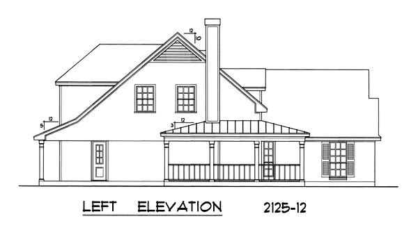 Этот удобный проект одноэтажного дома с мансардой в стиле кантри площадью  до 200 кв.м с гаражом на 2 машины и с 3 спальнями подходит для постоянного проживания. В большой спальне есть ванная. Также перед домом есть веранда..