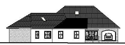 Удобный дом План  одноэтажного каркасного дома 24 на 23 217 кв м