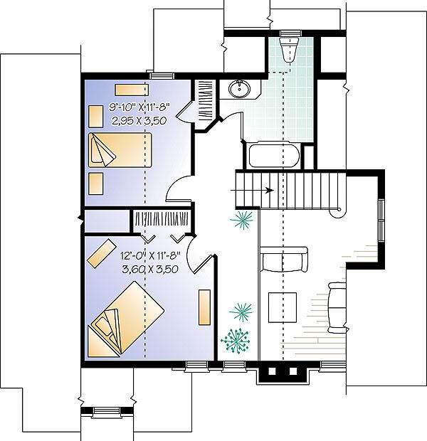 Популярный проект одноэтажного дома с мансардой 11 на 11 метров площадью  до 200 кв.м с 3 спальнями подходит для постоянного проживания.