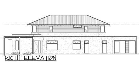 Фото 5 План двухэтажного дома из газобетона  с гаражом и верандой 285 кв м