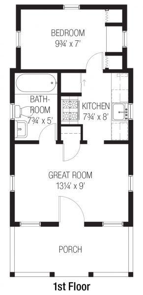 Отличный проект одноэтажного дома в стиле кантри9 метров площадью  до 50 кв.м с одной спальней подходит  для дачи .
