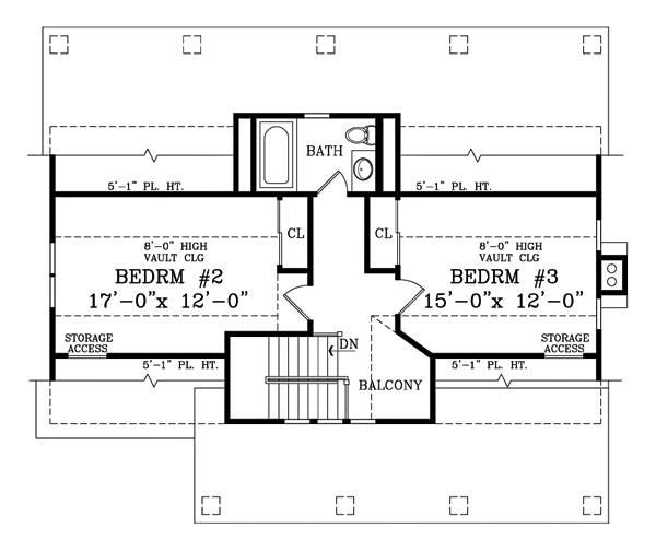 План 2 этажа Проект 2-этажного дома 13x11 209 кв м