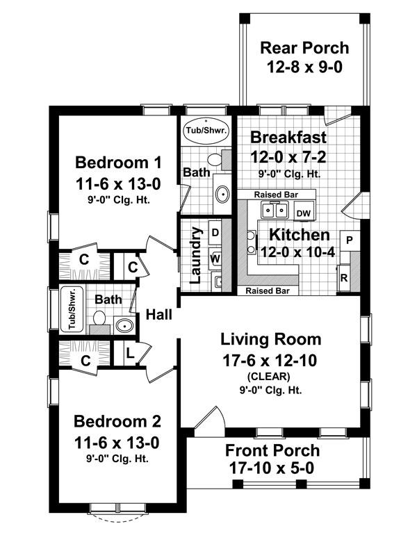Интересный проект одноэтажного дома в европейском стиле 9 на  площадью  до 150 кв.м с 2 спальнями подходит  для северных регионов . Также перед домом есть веранда..