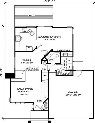 План 1 этажа План 2-этажного дома 12x14 145 кв м
