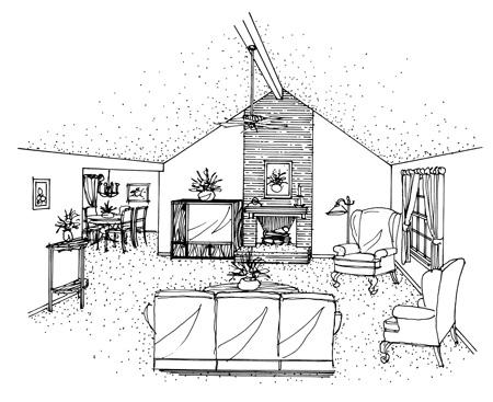 Этот популярный проект одноэтажного дома 10 метров площадью  до 150 кв.м с гаражом на 2 машины и с 3 спальнями подходит для постоянного проживания. Также перед домом есть веранда..