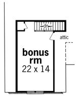 План мансарды План 1-этажного дома 17x18 156 кв м