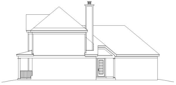 Вид справа План 2-этажного дома 14x15 181 кв м