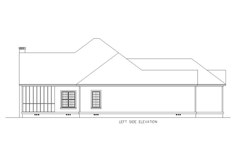 Отличный дом План 1-этажного дома 15x23 196 кв м