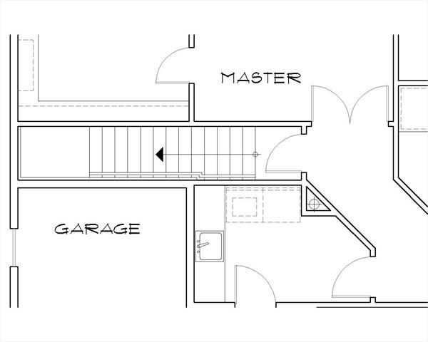 Этот красивый проект одноэтажного дома  площадью  до 200 кв.м с большим гаражом и с 3 спальнями подходит для постоянного проживания. В большой спальне есть ванная. Также перед домом есть веранда..