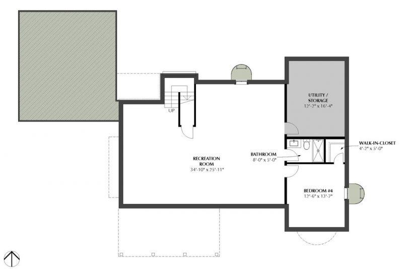 Этот симпатичный проект двухэтажного каркасного дома в сказочном стиле площадью  до 200 кв.м с гаражом на 2 машины и с 3 спальнями подходит для северных регионов стены с утеплителем 250 мм.
