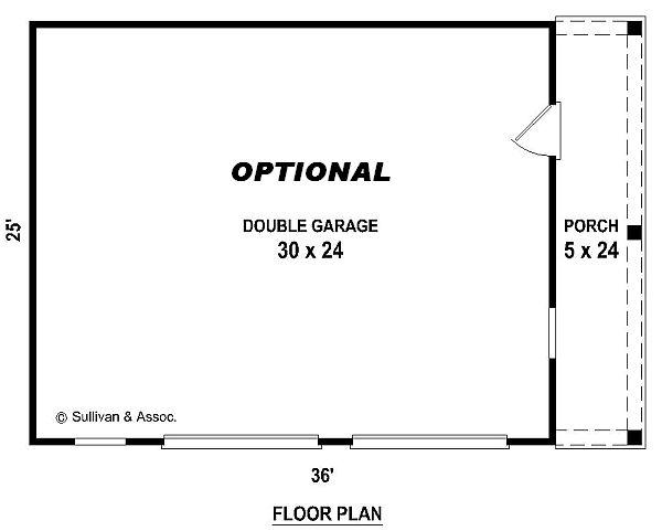 Красивый дом План 1-этажного дома 16x15 155 кв м