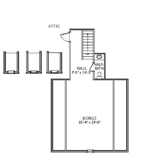 Хорошая планировка План 1-этажного дома 18x23 176 кв м