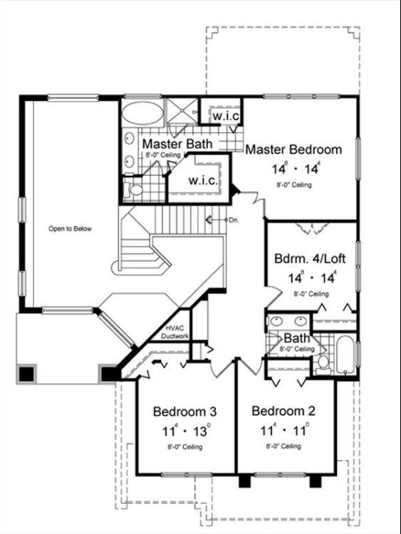 План 2 этажа План 2-этажного дома 12x15 192 кв м