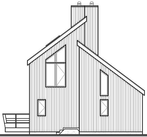 Этот удобный проект двухэтажного каркасного дома  8 на 10 метров площадью  до 150 кв.м с 3 спальнями и террасой подходит  для дачи.