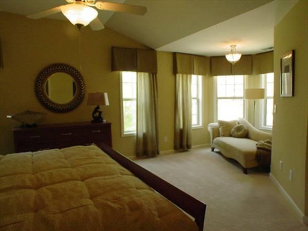 Спальня с будуаром План 1-этажного дома 12x20 142 кв м
