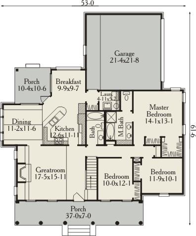 Популярный проект одноэтажного дома с мансардой в американском стиле площадью  до 200 кв.м с гаражом на 2 машины и3 5 подходит для постоянного проживания. В большой спальне есть ванная. Также перед домом есть веранда..