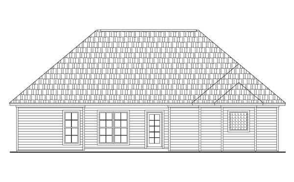 План 1-этажного дома KD-5870-1-3 149 кв м