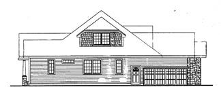 Проект каркасного дома План сказочно красивого дома в стиле кантри