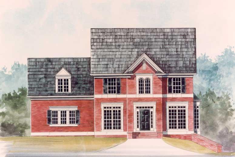Хорошая планировка План 2-этажного дома 15x11 186 кв м