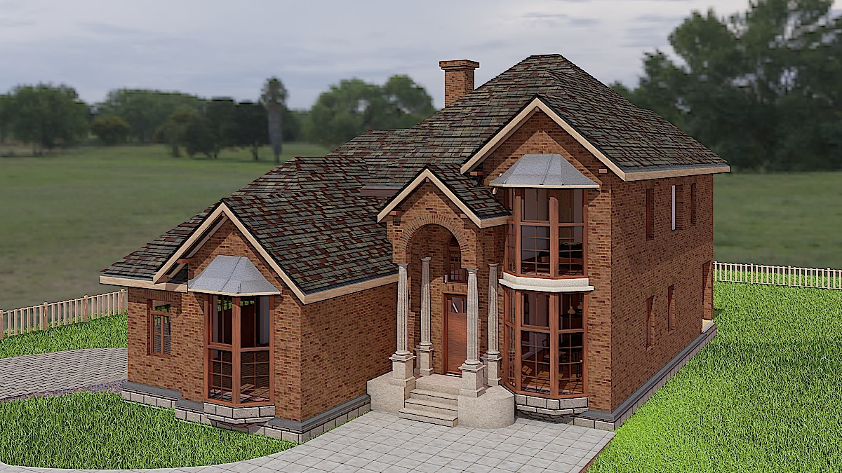 House Plan AM-4374-2-3: Two story contemporary house plan ... on one bedroom house plan, one car garage office, 2 car garage door floor plan, one car garage barn, one car garage shed, one car garage cabinet, one car garage doors, one car garage studio, one car garage carport,