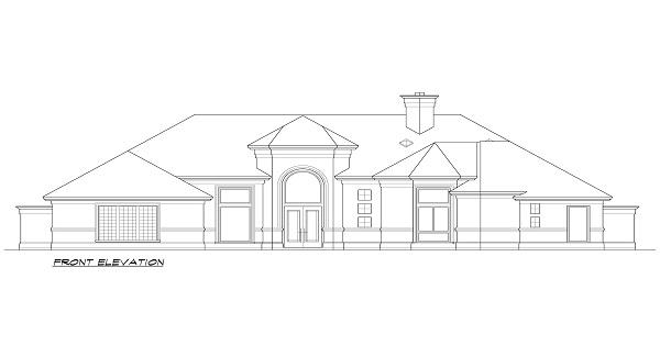 Фасад План 2-этажного дома 15x22 247 кв м
